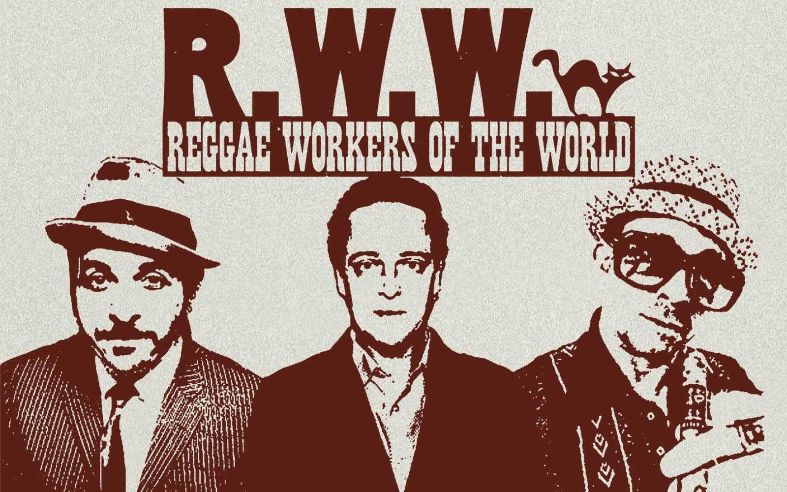 Reggae Workers im Fanshop Reeperbahn