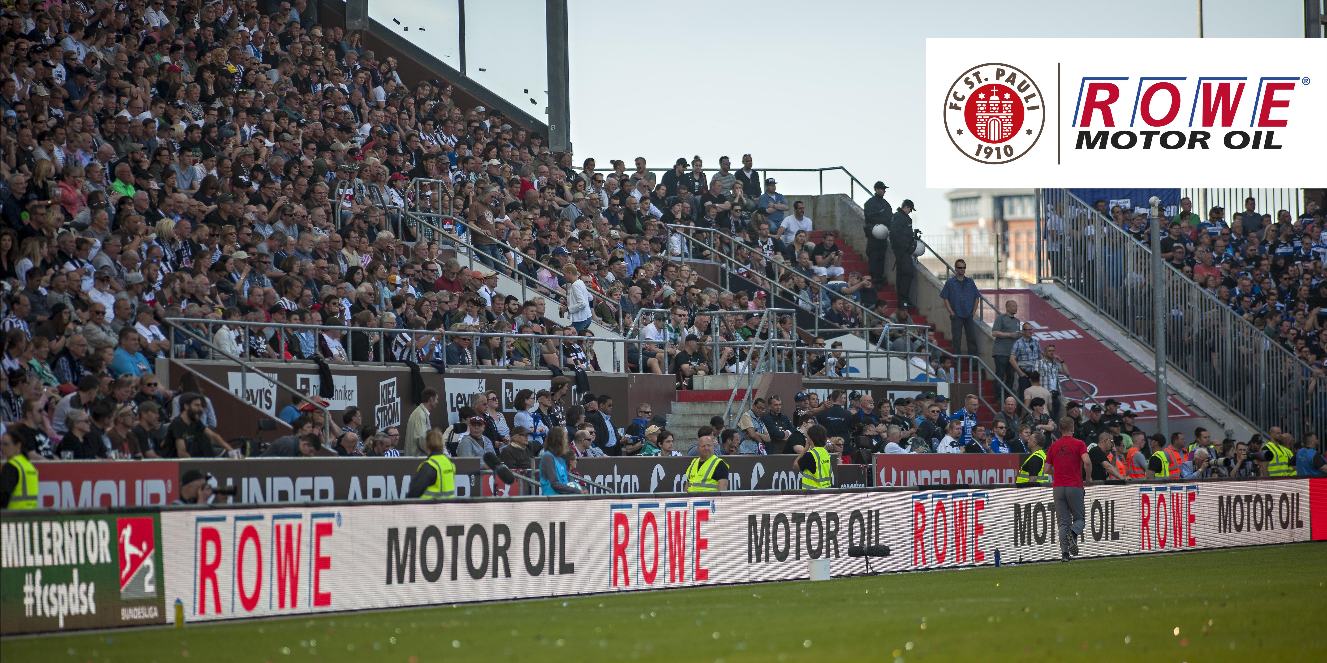 """ROWE steigt als """"Kapitän""""-Sponsor beim FC St. Pauli ein"""