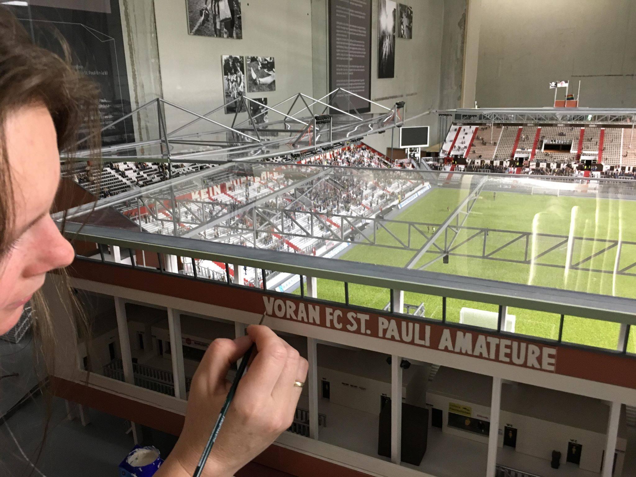 Stadionmodell: Millerntor hoch 1910!