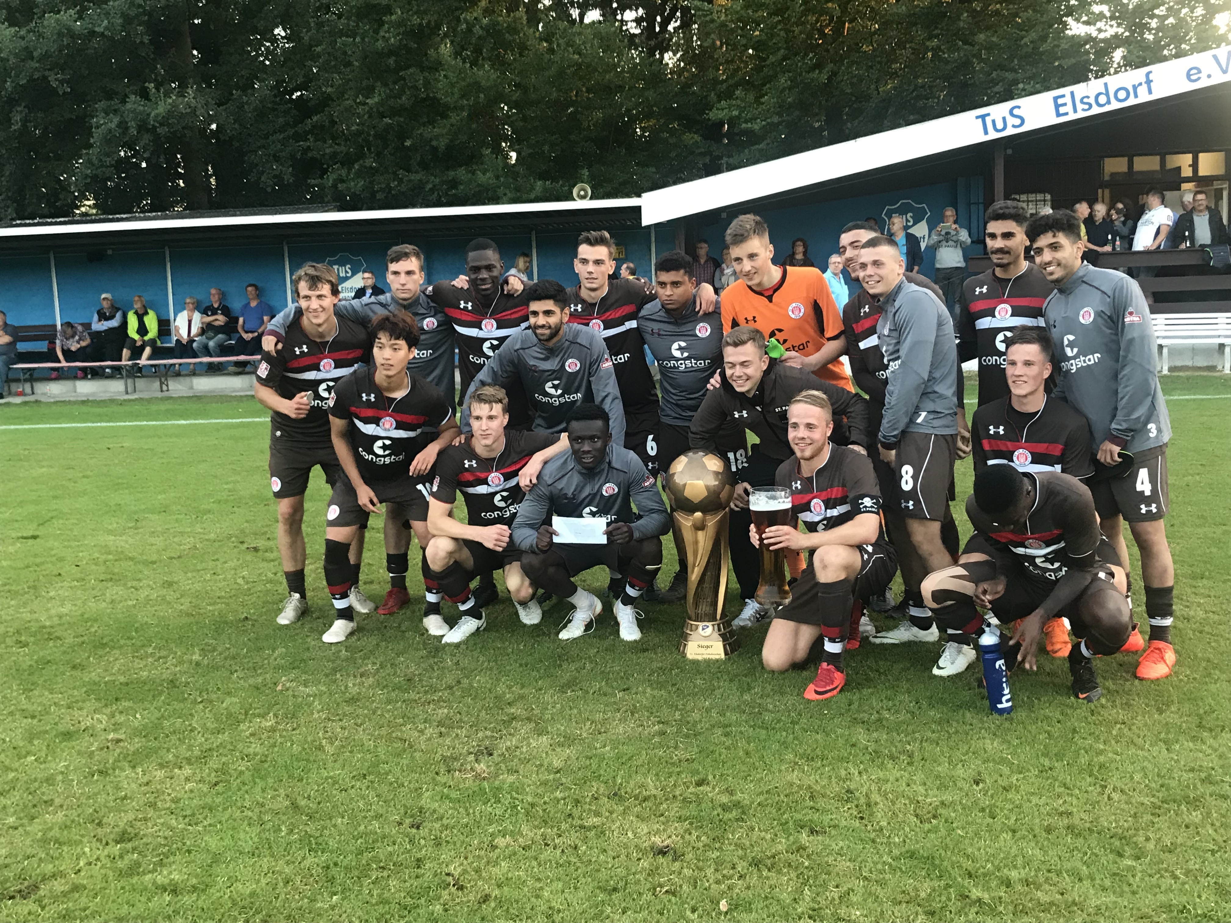 3:1 gegen Heeslingen: U23 gewinnt die Elsdorfer Pokalwochen