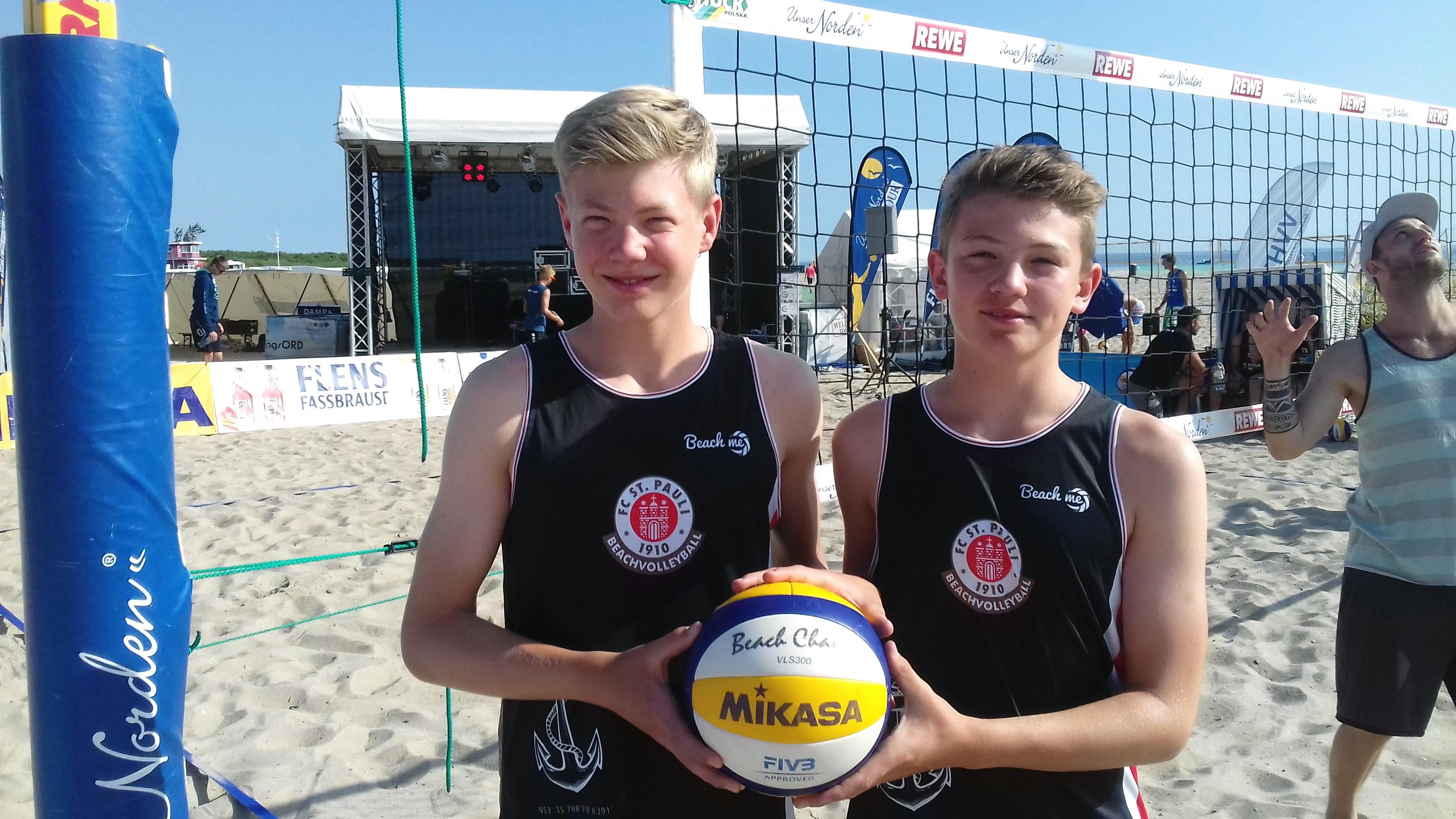 Platz 21 bei Beach-Bundespokal: Beachvolleyball-Duo Camp/Sevecke mit guten Leistungen