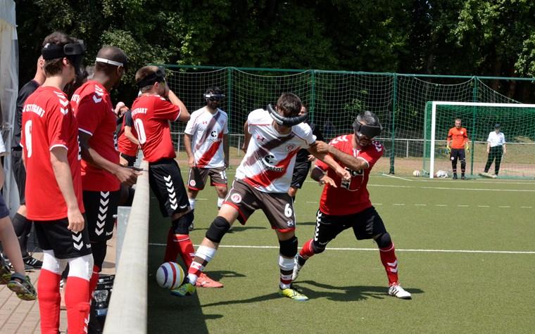 Letzter BL-Spieltag: Blindenfußballer vor Einzug ins DM-Finale