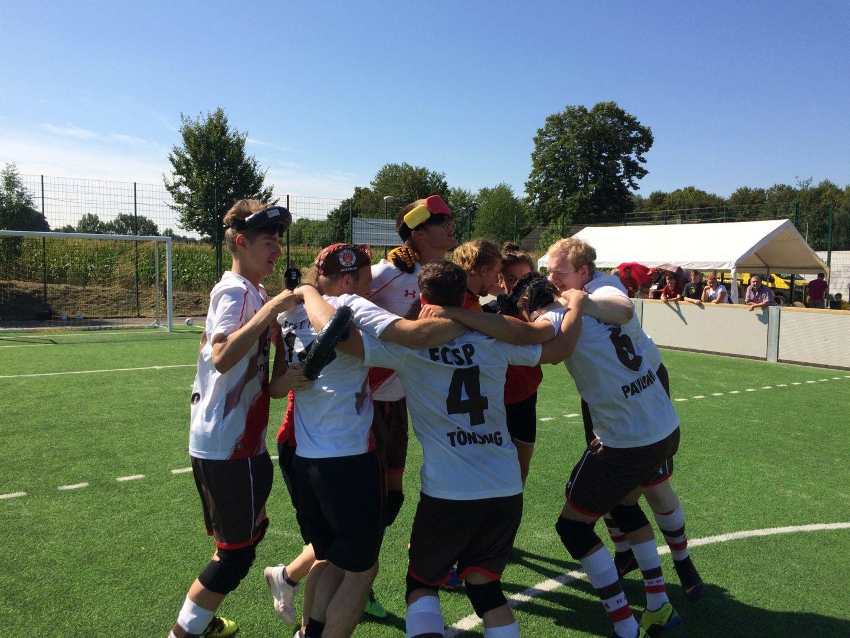Fiiiiinaaale, oho! Blindenfußballer erreichen DM-Endspiel gegen Stuttgart