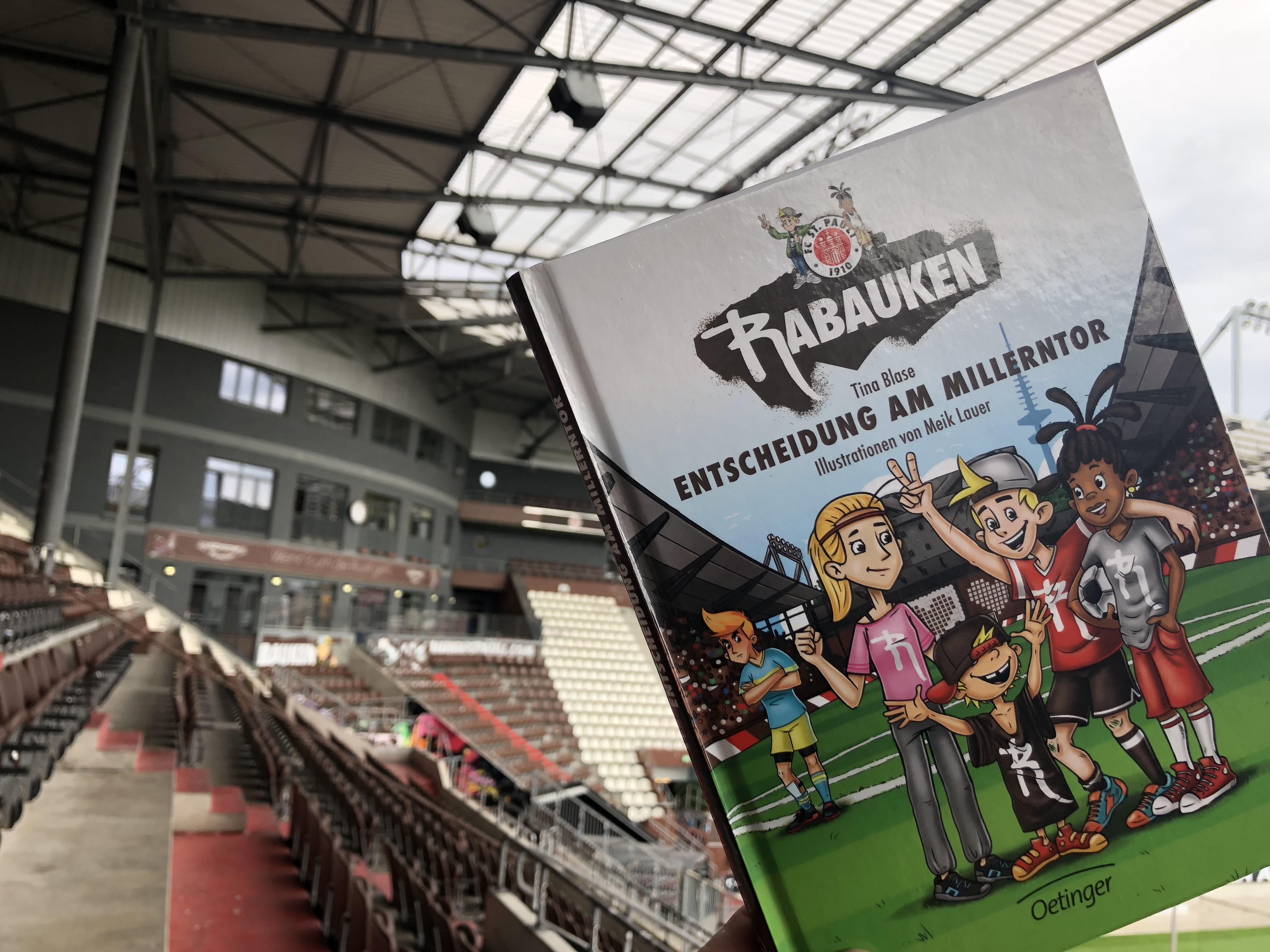 """""""Entscheidung am Millerntor"""" - Rabauken-Kinderbuch ab sofort erhältlich!"""