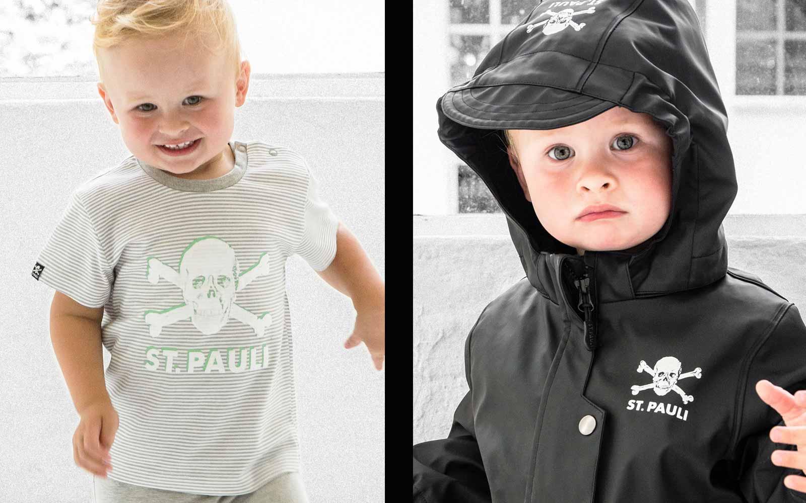 Vor dem Kind ist das Baby: Neue Babysachen im Fanshop