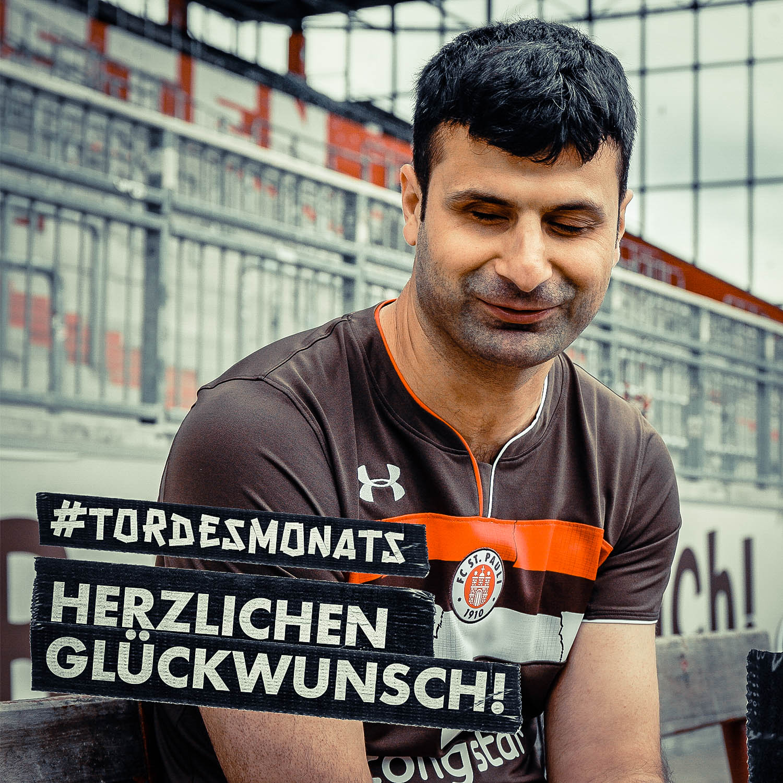 Glückwunsch! Blindenfußballer Serdal Celebi gewinnt das Tor des Monats