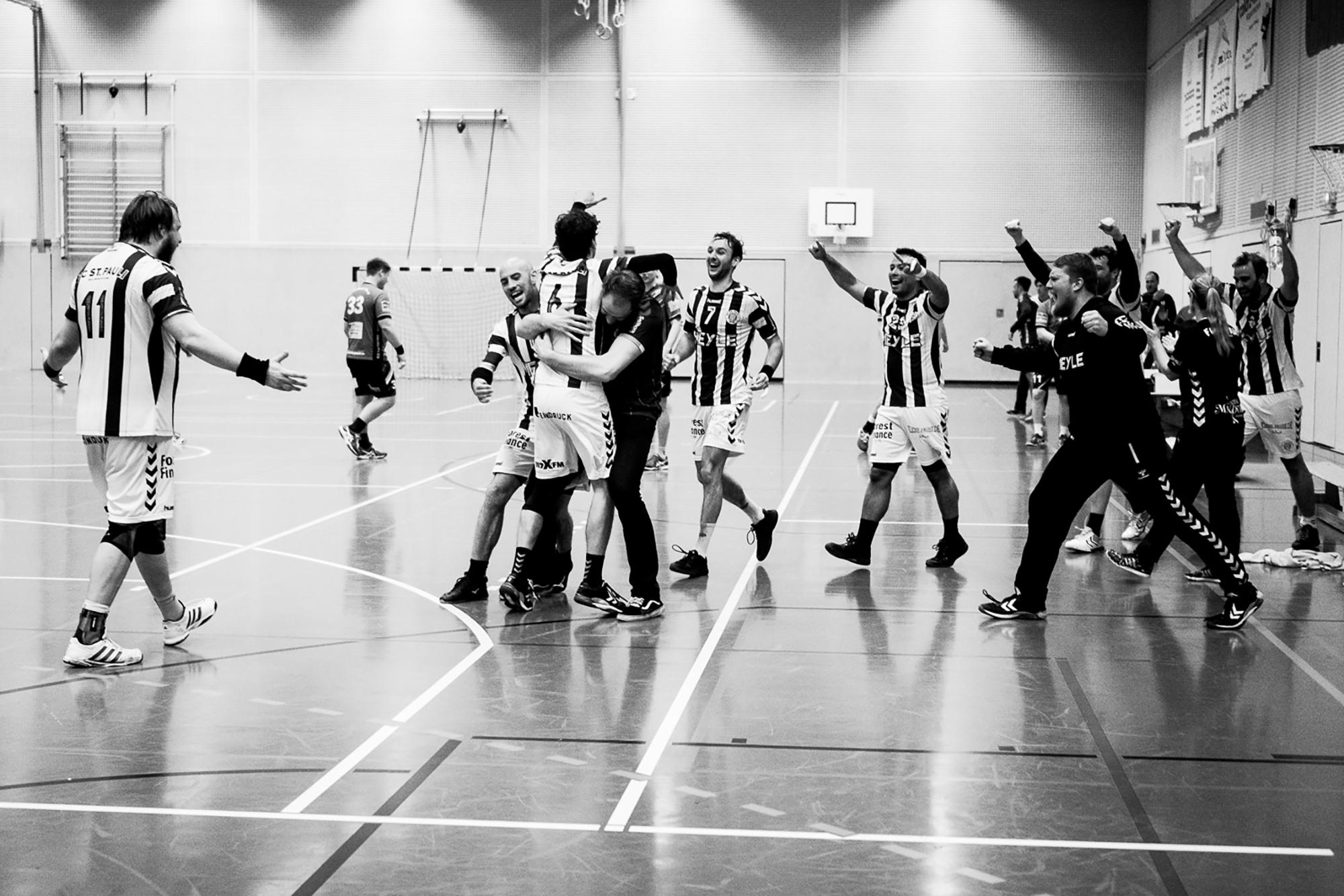 Heimauftakt unserer Handballer mit Derby gegen Drittligaabsteiger