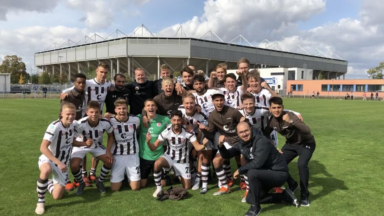 U19 mit sechstem Sieg,  U17 verliert unglücklich gegen Wolfsburg, U15 mit starkem Auftritt in Wolfsburg