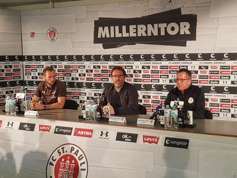 Kauczinski & Himmelmann vor dem Derby - FC St. Pauli