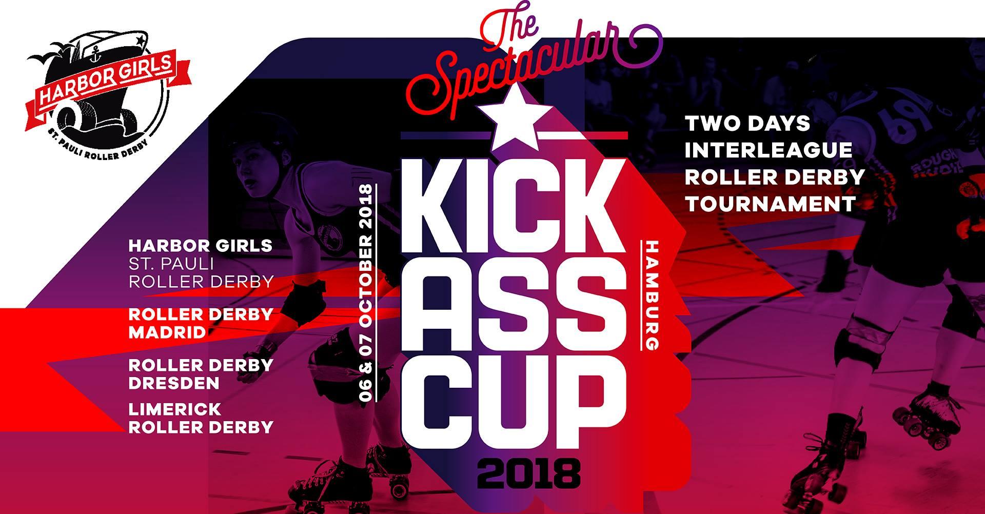 3. internationaler Kick Ass Cup unserer Harbor Girls