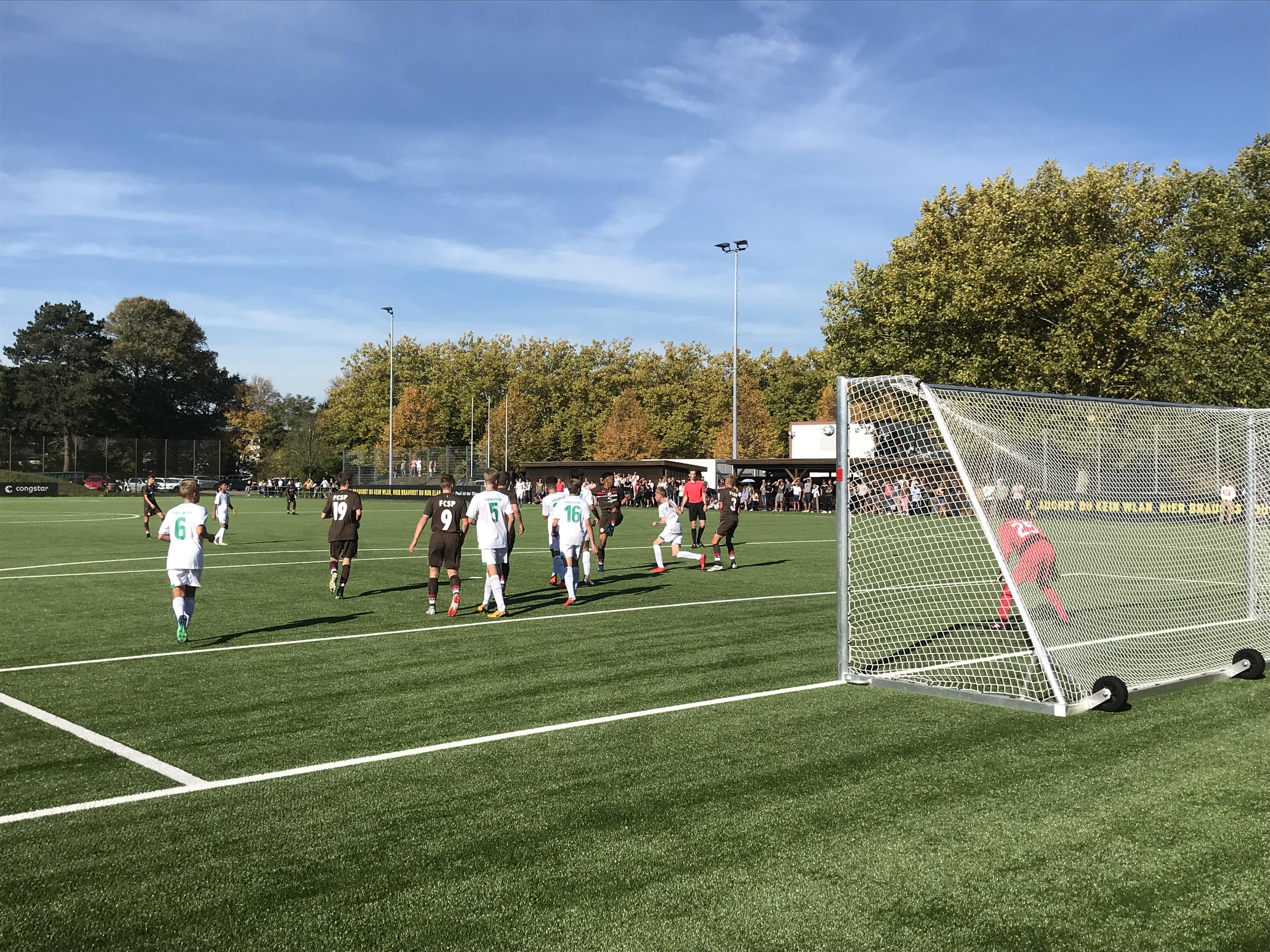 Trotz starkem Auftritt: U15 unterliegt Werder Bremen mit 0:1