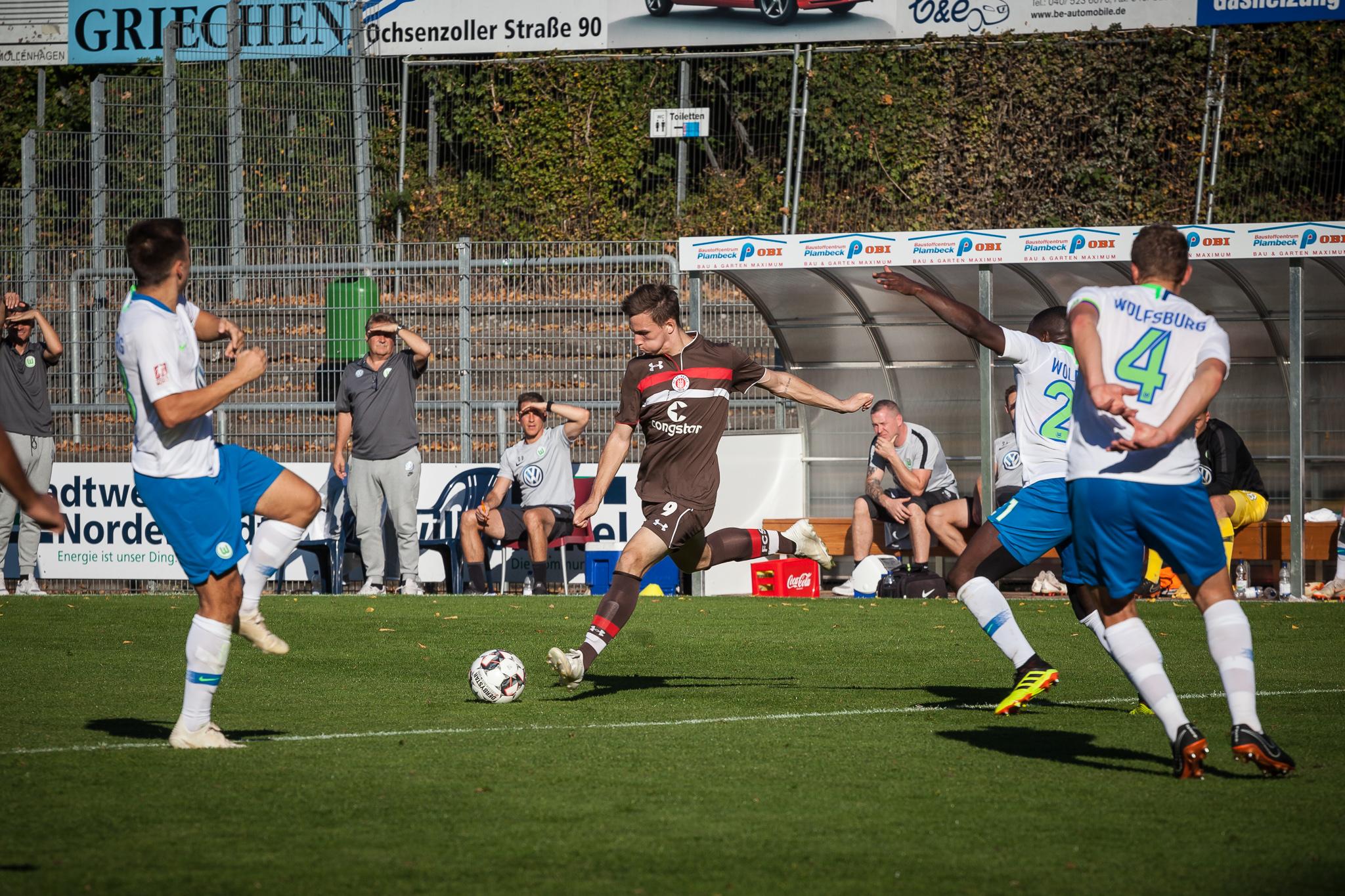 1:3 gegen Wolfsburg II: U23 kassiert erste Heimniederlage