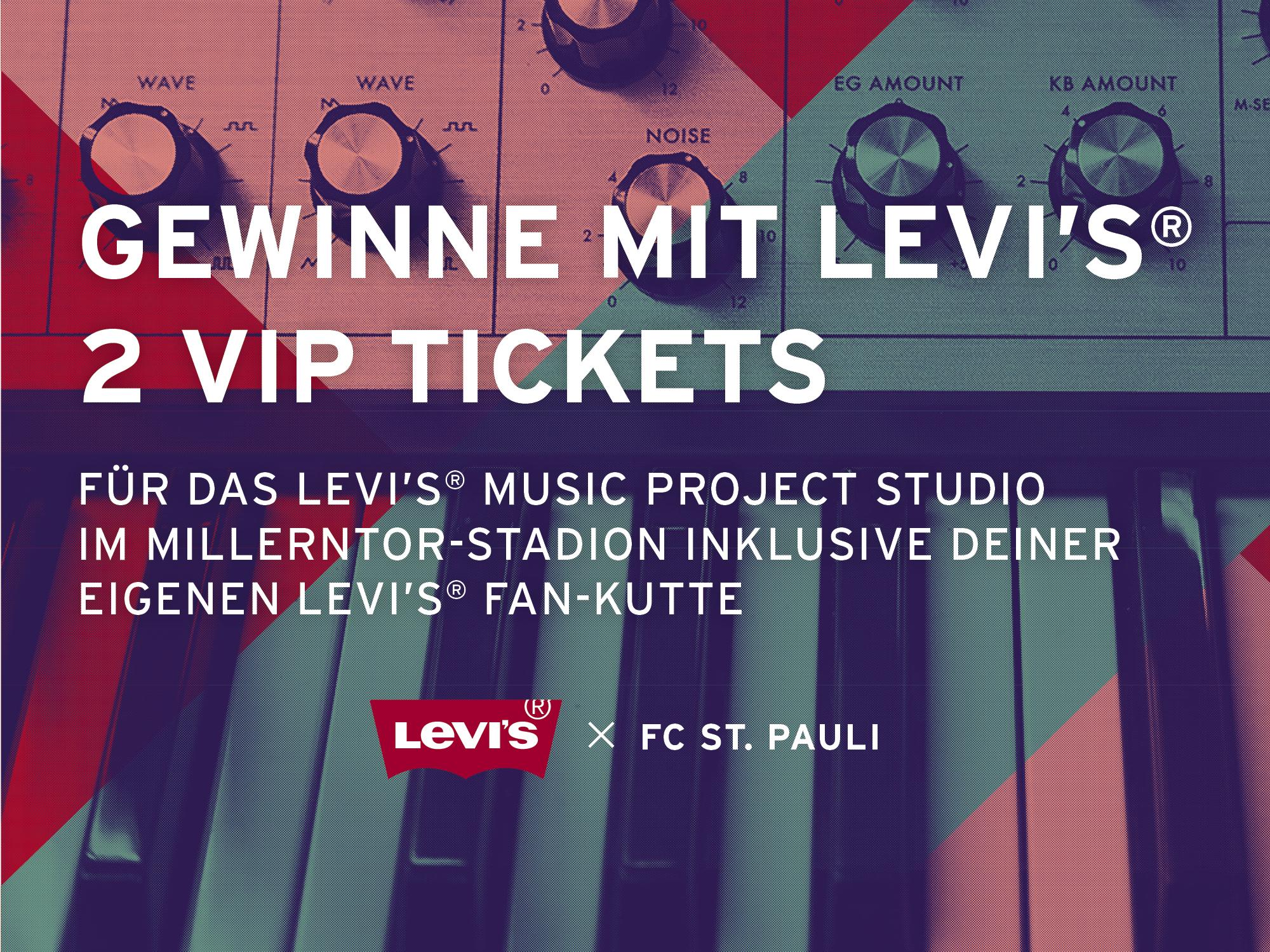 Levi's® verlost VIP-Tickets für die kommenden Heimspiele