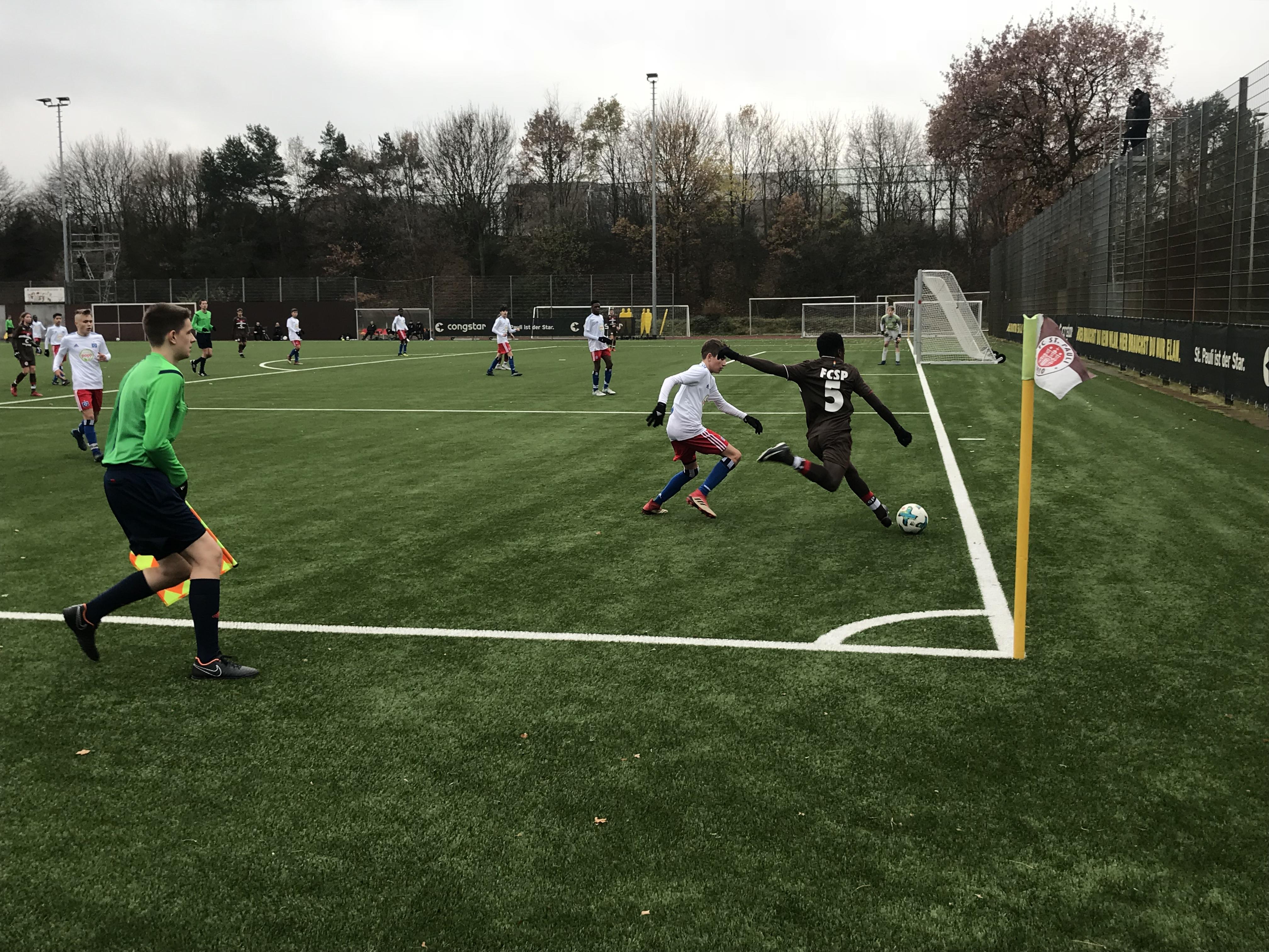 """1:3 gegen die """"Rothosen"""": Die U15 scheidet spät aus dem Pokal aus"""