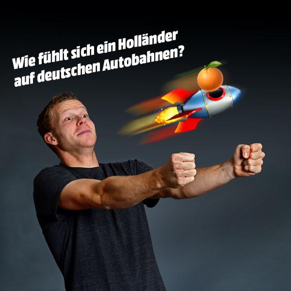 """Fotoserie """"Sabbel nich!"""" mit Henk Veerman"""