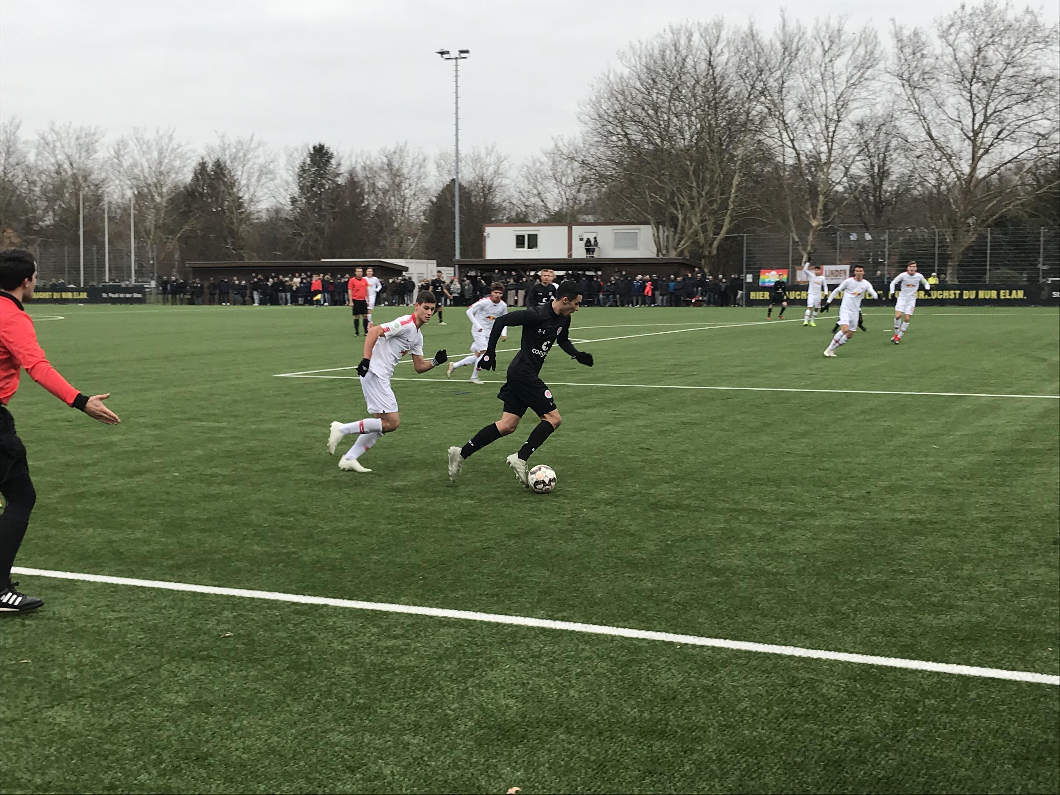 DFB-Pokal-Aus im Viertelfinale: Die U19 unterliegt Leipzig mit 0:2