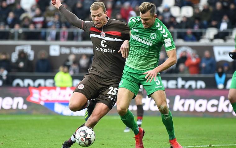 Noch Restkarten für Heimspiel gegen Greuther Fürth erhältlich