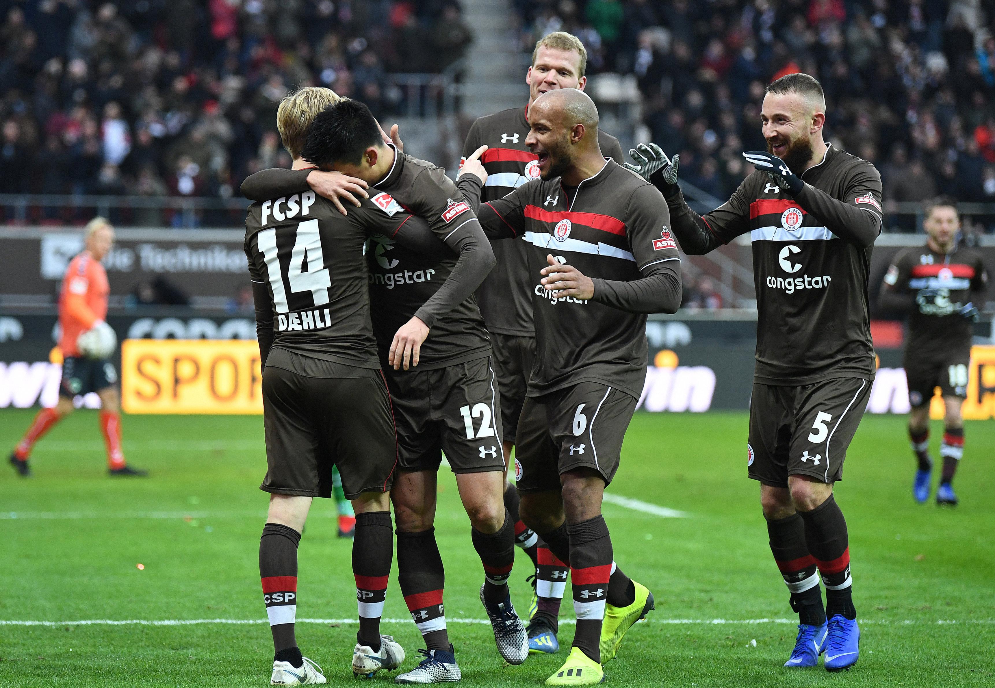 2:0 gegen Fürth - Kiezkicker beenden starke Hinrunde mit Heimsieg