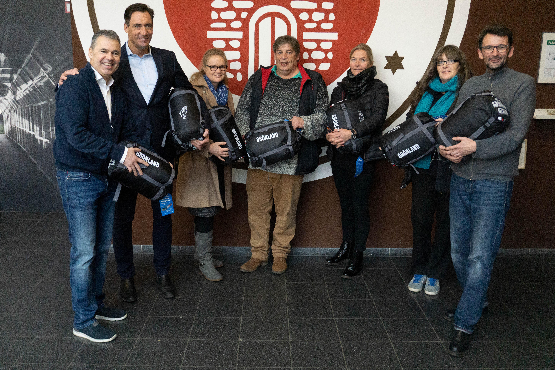 Der FC St. Pauli spendet Erlös vom Public Viewing an die Bergedorfer Engel