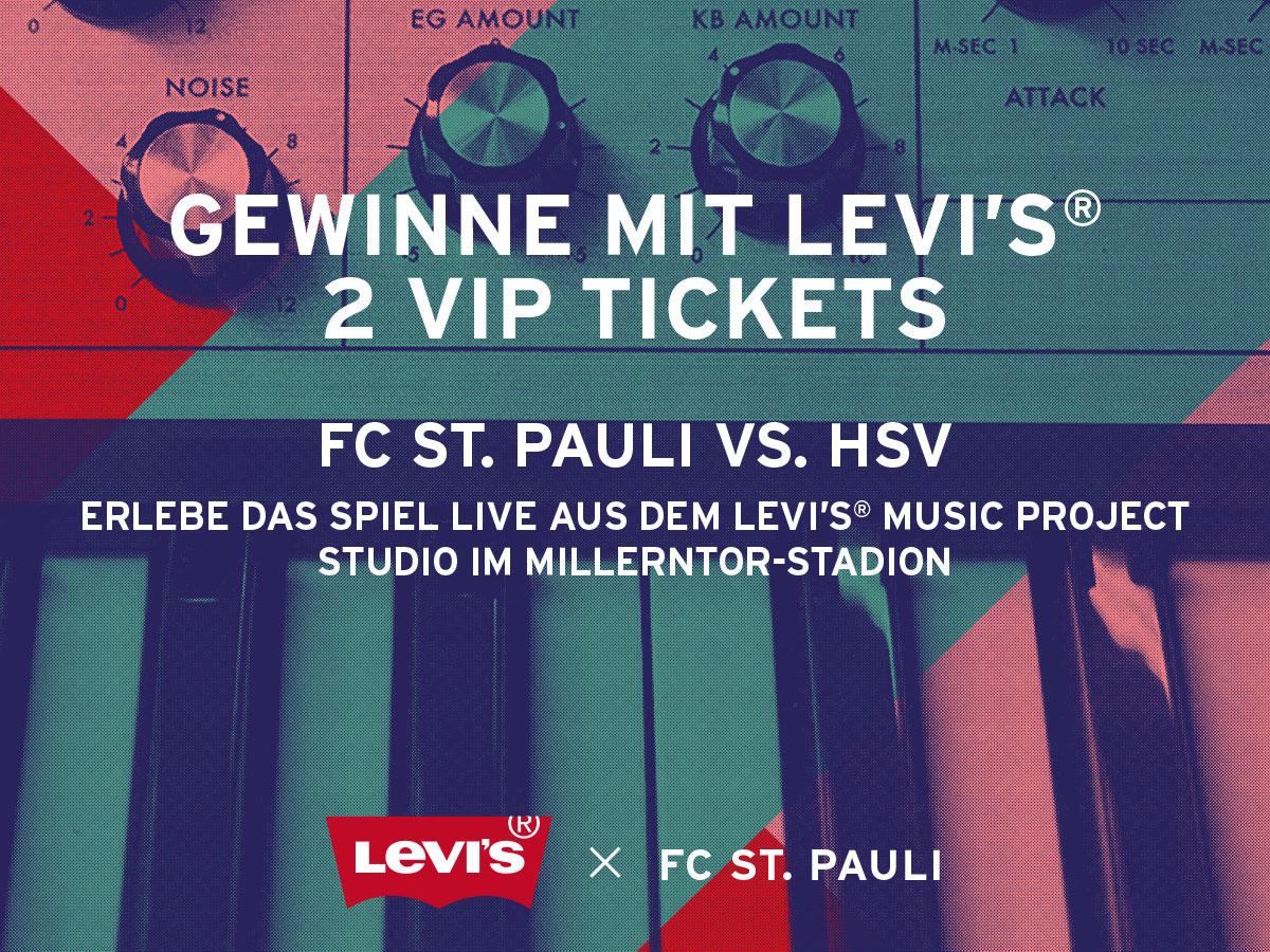 Levi's® verlost VIP-Tickets für das Derby