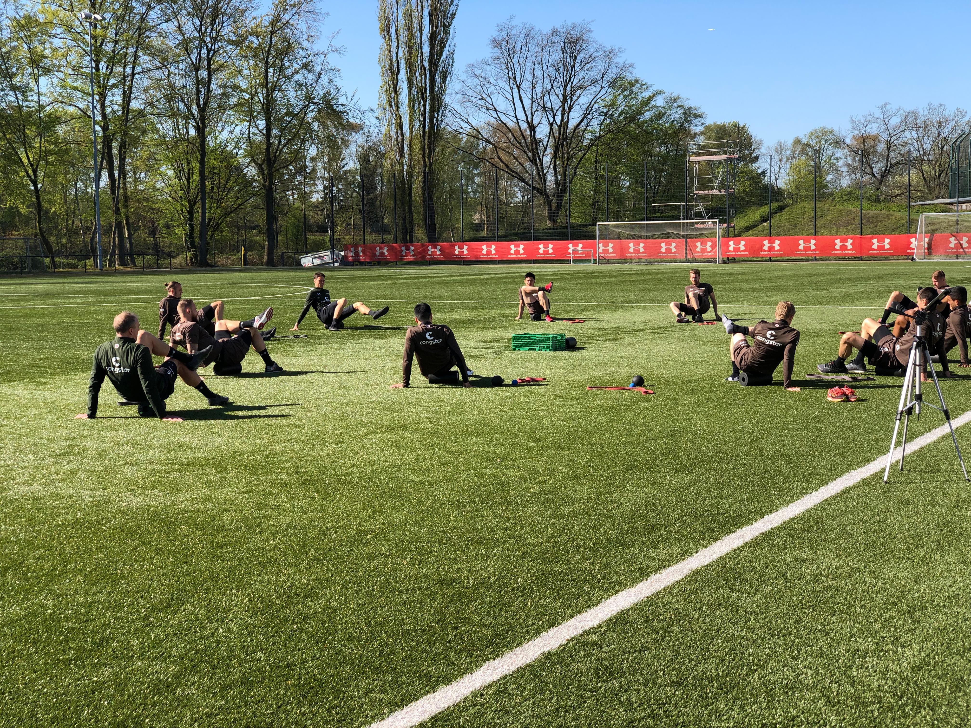 Regeneration und Spielersatztraining nach Heidenheim