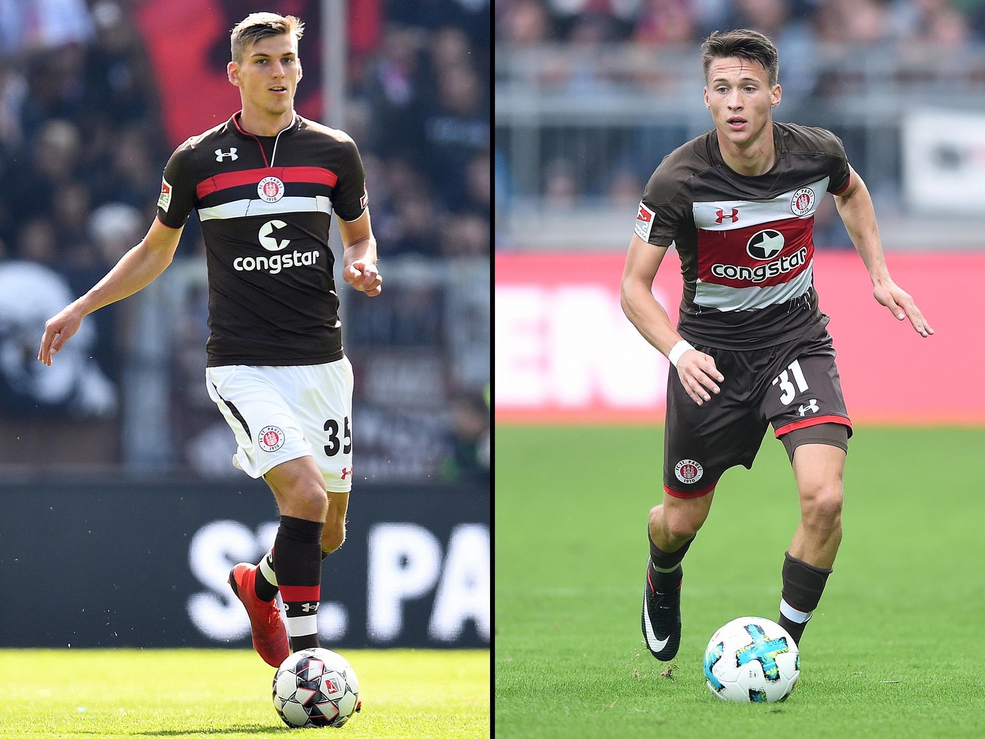 Brian Koglin und Maurice Litka verlassen den FC St. Pauli