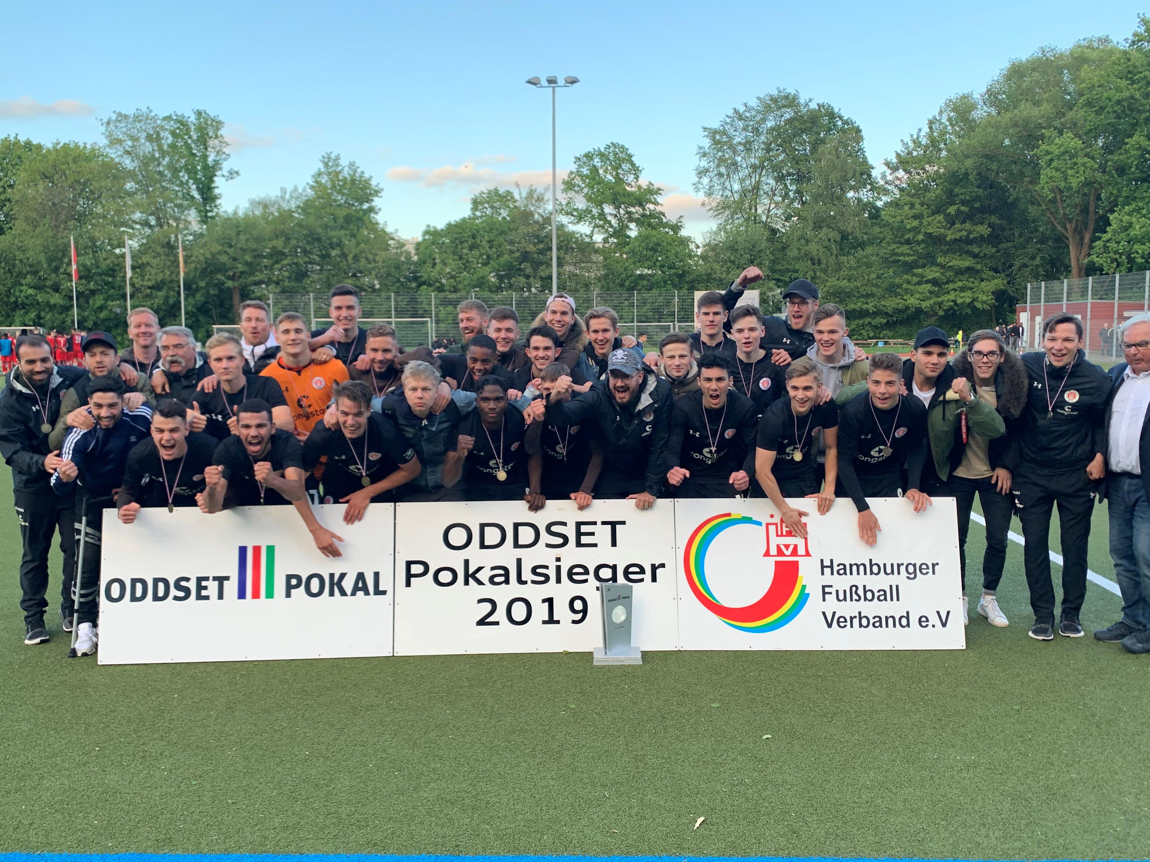 2:0 gegen den ETV: U19 feiert Pokalsieg  - U16 zieht ins Endspiel ein
