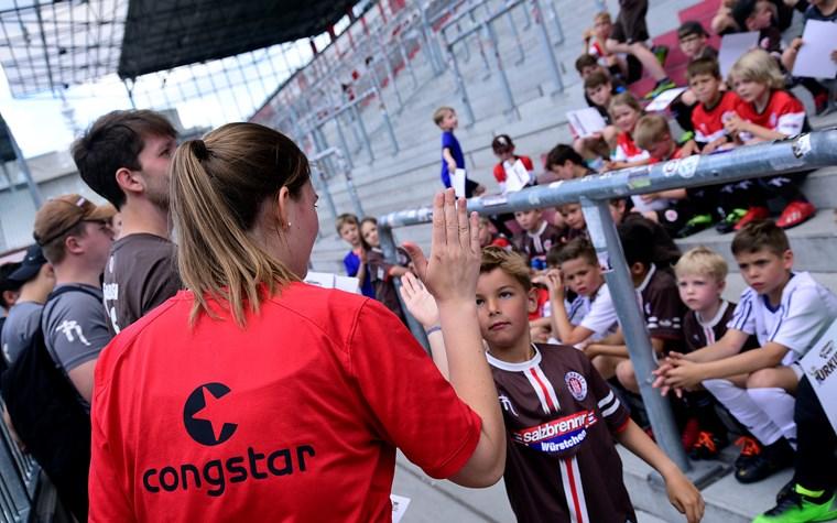 Rabauken-Sommerfest und Stadiontraining am Millerntor