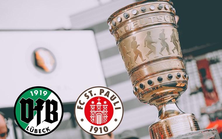 Infos zum Kartenverkauf für DFB-Pokalspiel beim VfB Lübeck