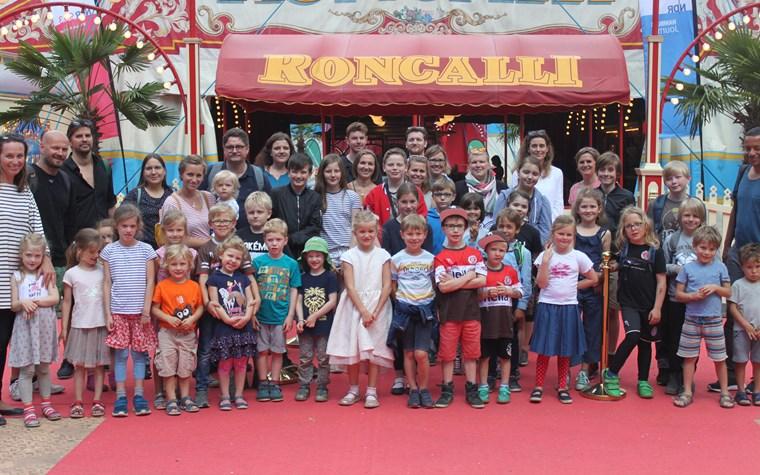 Rabauken begeistert vom Circus Roncalli