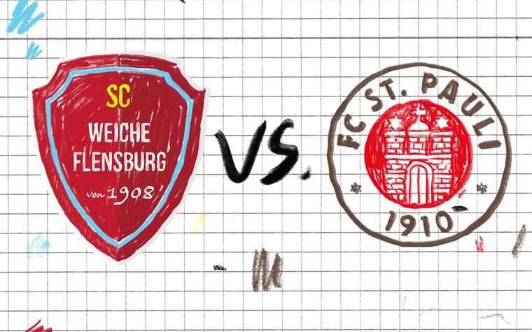 Weitere Testspiele fix: Kiezkicker gegen WSG Wattens und Weiche Flensburg 08