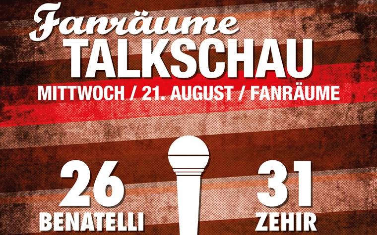 Fanräume Talkschau Vol. 30 mit Rico Benatelli und Ersin Zehir