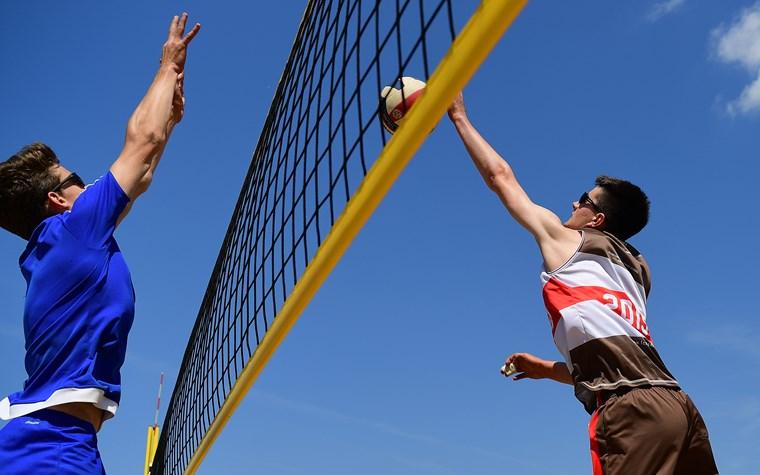 Hamburger Beachvolleyball-Meisterschaften im Stadtpark