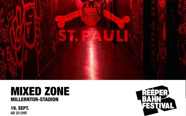 Reeperbahnfestival meets FC St. Pauli: Kabinentrakt wird zum Konzertraum