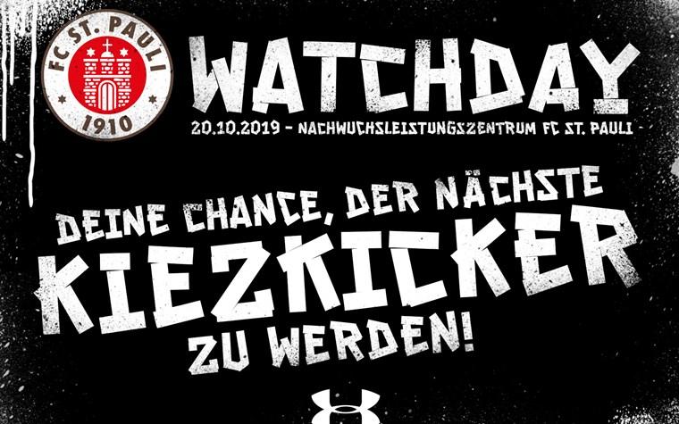 Watchday am Sonntag (20.10.) - Talentsichtungstag im NLZ