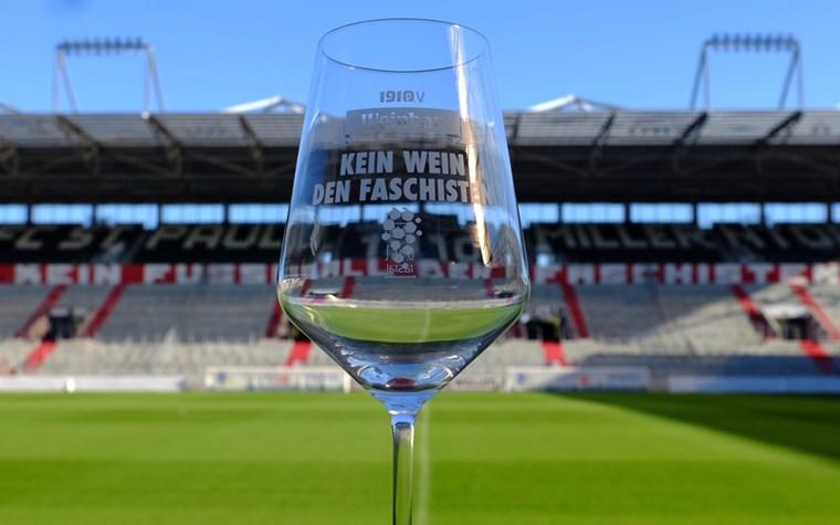 Benefiz-Weinparty im FCSP-Museum am Freitag (18.10.)