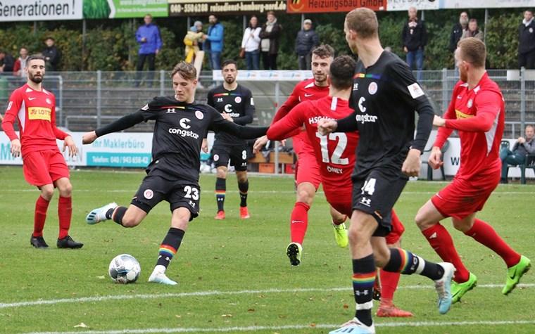 6:0 gegen den HSC Hannover: U23 landet Befreiungsschlag