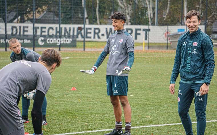 """Unsere Torhüter: """"Offensiver Umgang mit der sensiblen Position"""""""