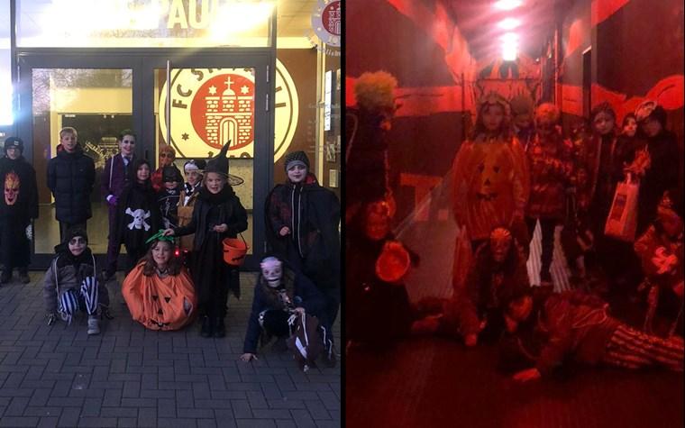 Halloween-Übernachtungsparty der Rabauken am Millerntor