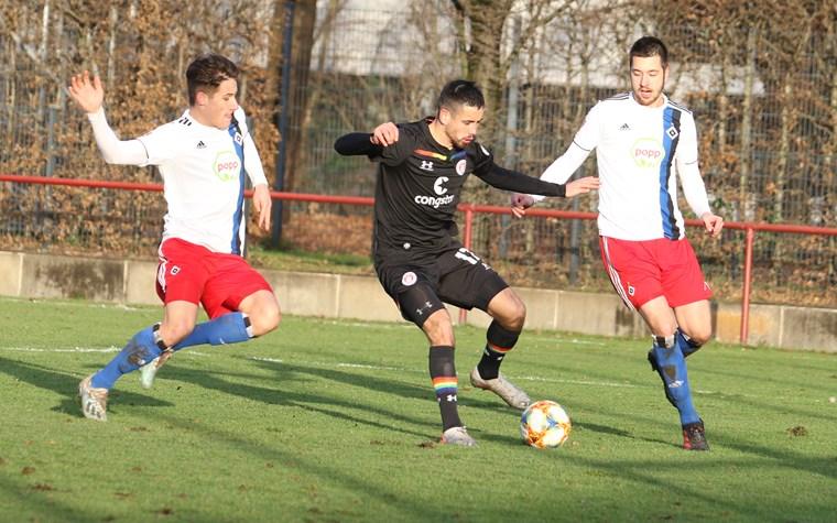 1:1 im kleinen Derby - U23 mit verdientem Punkt zum Jahresende