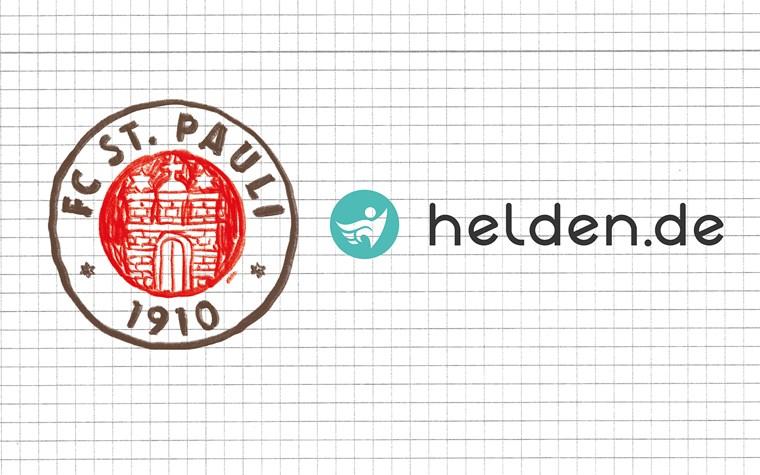helden.de neuer Partner des FC St. Pauli