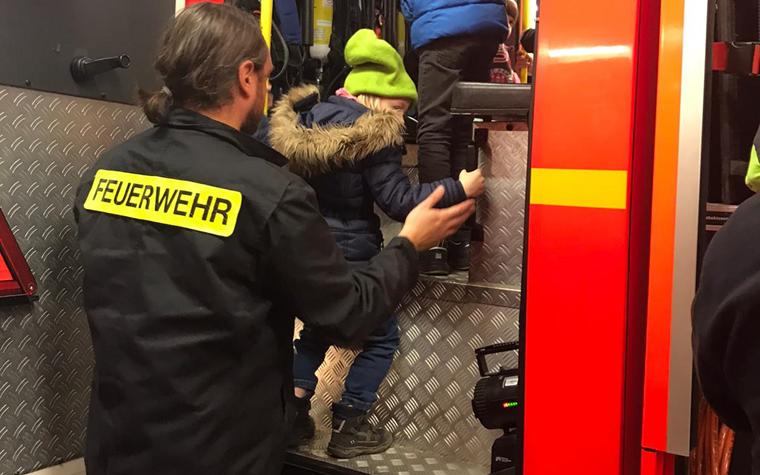 Rabauken blicken hinter die Kulissen der freiwilligen Feuerwehr Altona