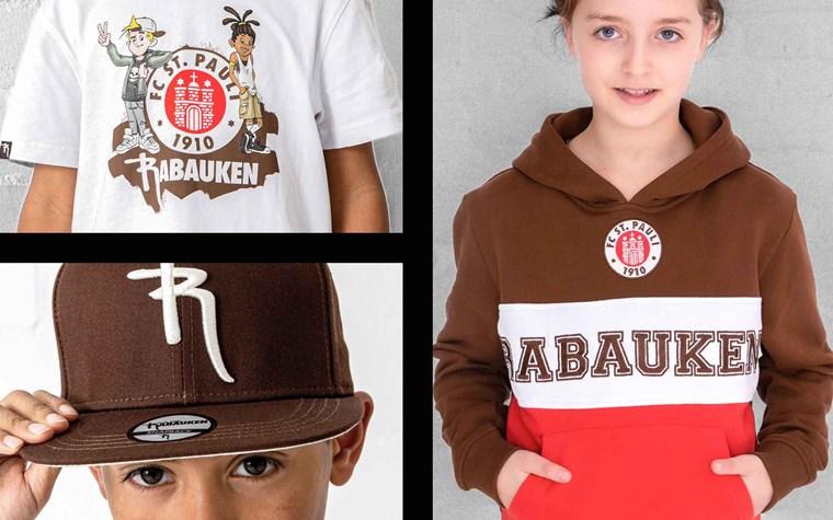 Neue Rabauken-Kollektion in den FCSP-Fanshops