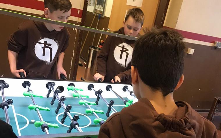 Drittes Rabauken-Kickerturnier - spannende Duelle mit und gegen FCSP-Tischfußballer*innen