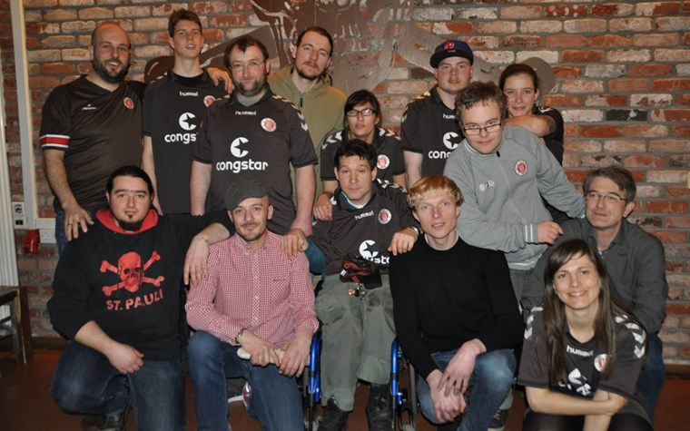 """""""Mit viel Leidenschaft und Herz"""" – 5 Jahre inklusives Kickern beim FCSP"""
