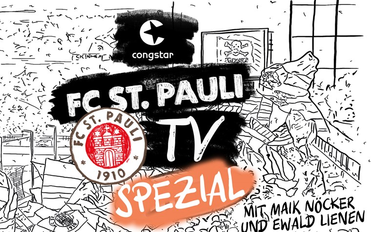 FC St. Pauli TV Spezial mit Maik Nöcker und Ewald Lienen