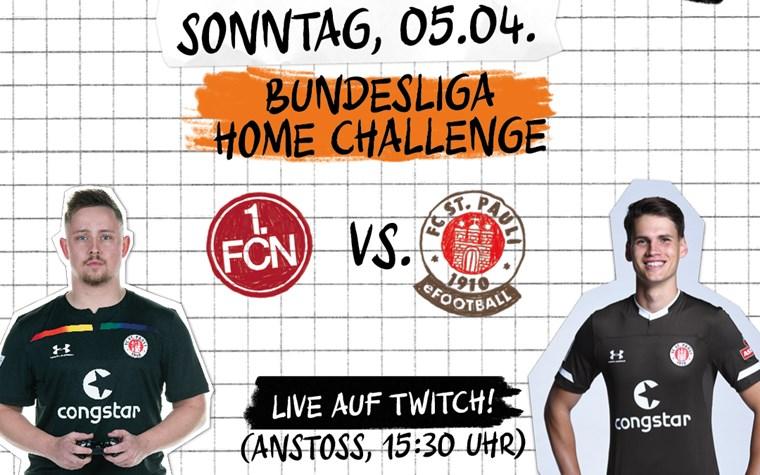 Bundesliga Home Challenge – Zweiter Spieltag mit Zander und eFootballer Tom