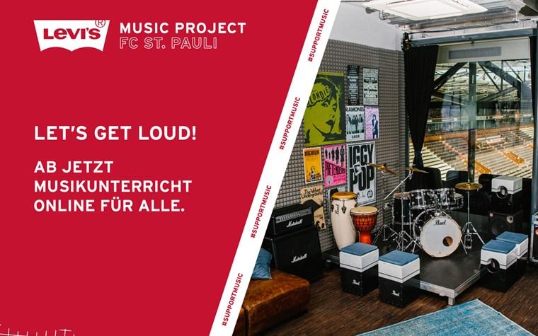 Zusammen auf Klick: Online-Unterricht von Profis für Einsteiger mit dem Levi's Music Project