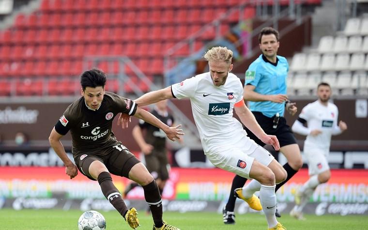 Nach spannenden Schlussminuten: Kiezkicker trennen sich torlos vom 1. FC Heidenheim