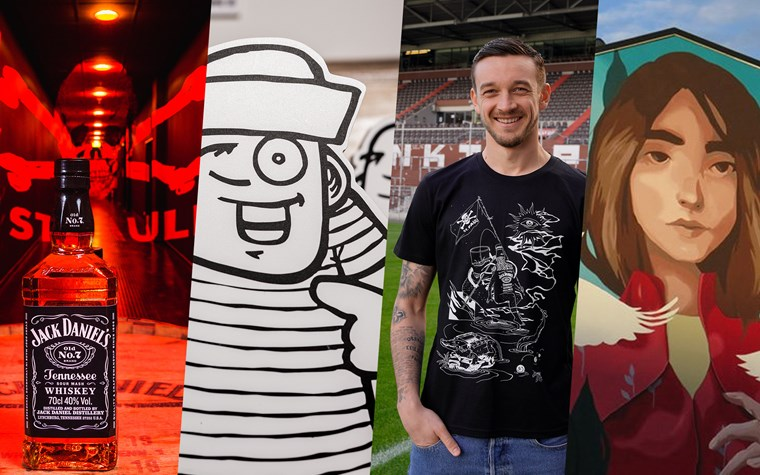 Anpfiff für echte Kunst: Jack Daniel's bringt Street Art auf den Kiez